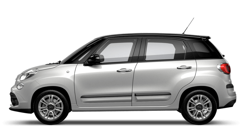 Minimal Grey with Black Roof (Bi-colour) FIAT 500L Urban Look