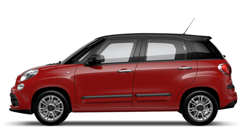 Pasodoble Red with Matt Black Roof (Bi-colour) FIAT 500L Urban Look