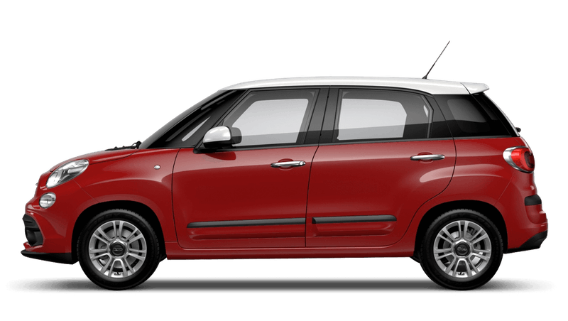 Pasodoble Red with White Roof (Bi-colour) FIAT 500L Urban Look
