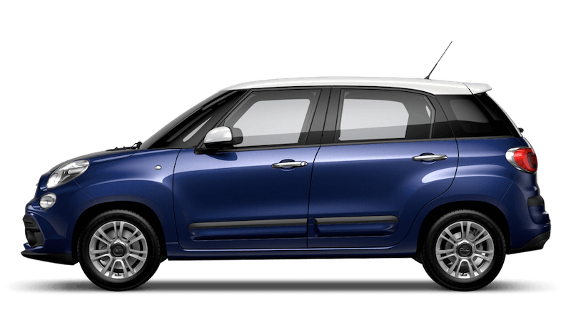 Venezia Blue with White Roof (Bi-colour) FIAT 500L Urban Look