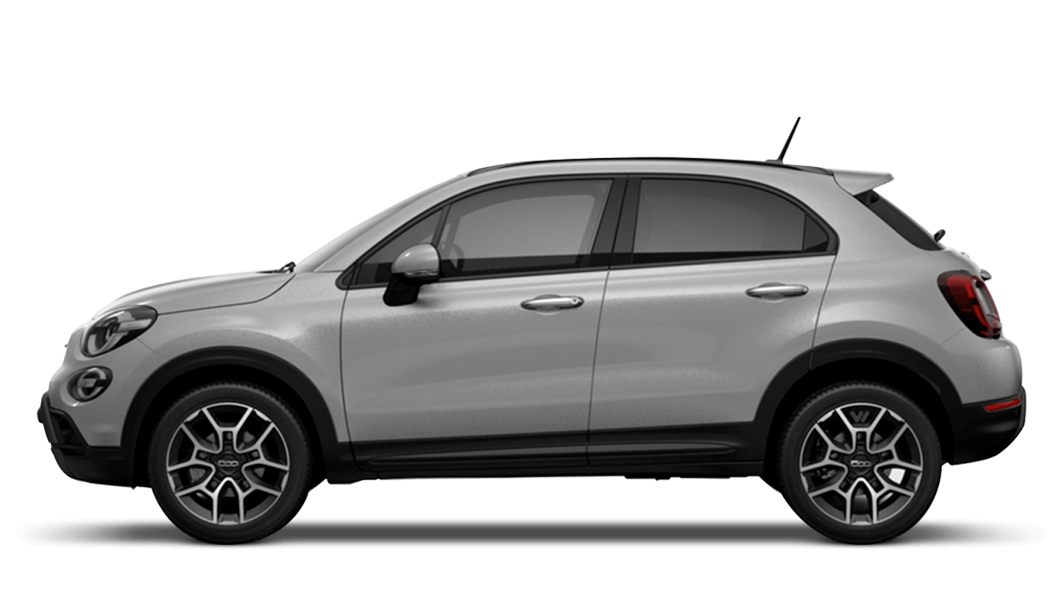 Argento Grey (Metallic) New Fiat 500X Cross Look
