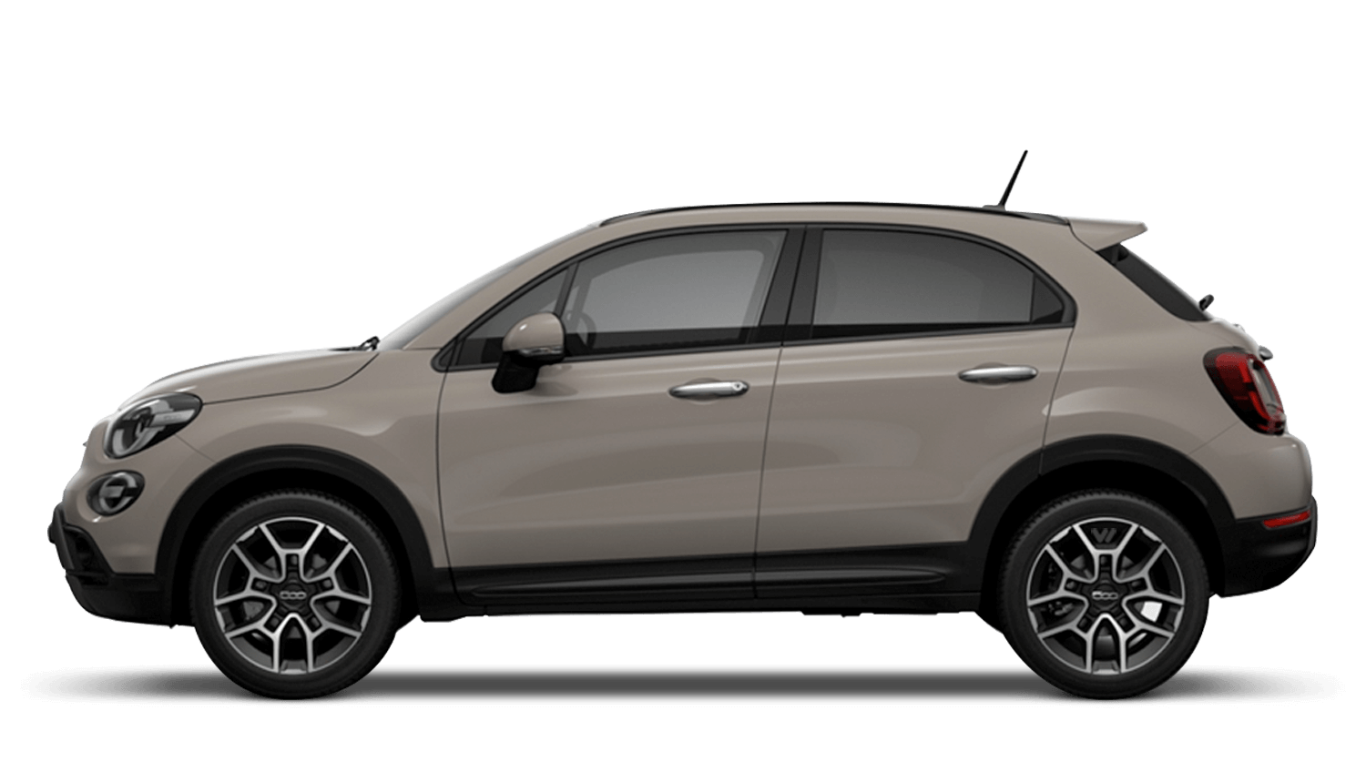 Cappucino Beige (Pastel) New Fiat 500X Cross Look