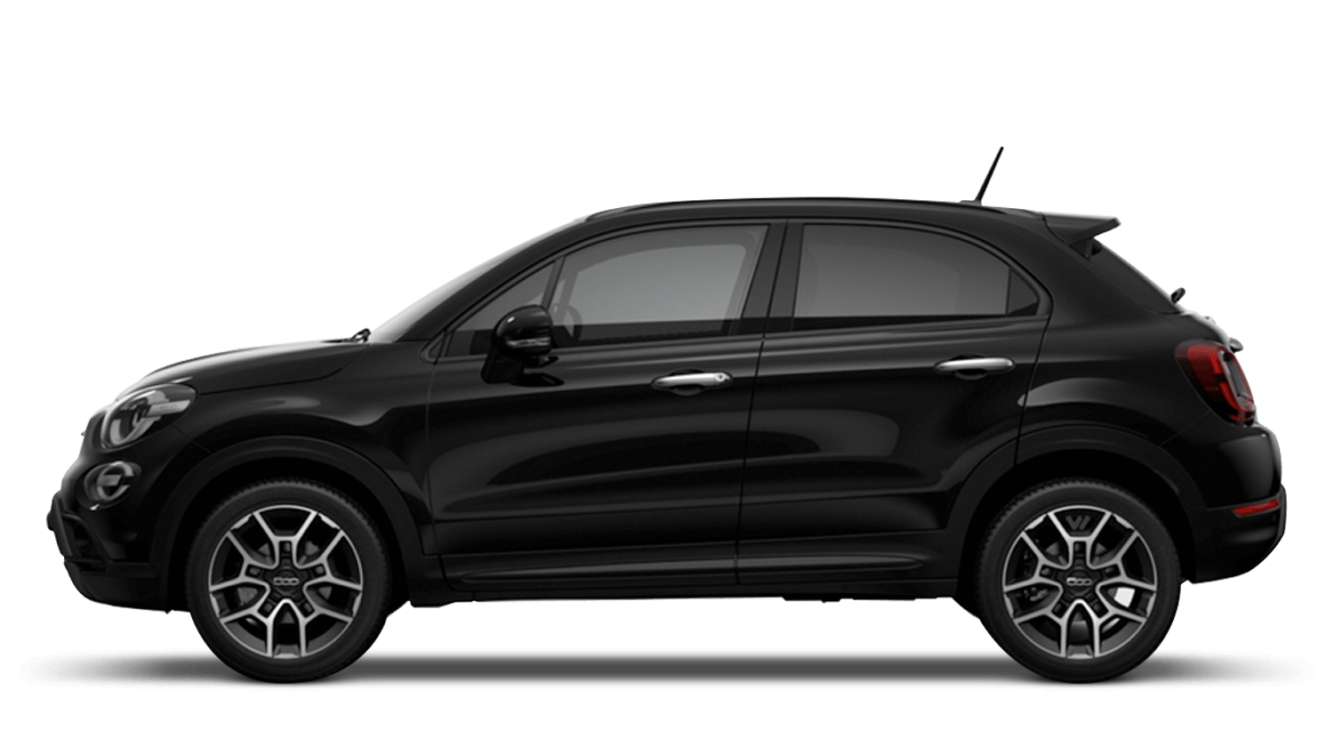 Cinema Black (Pastel) New Fiat 500X Cross Look