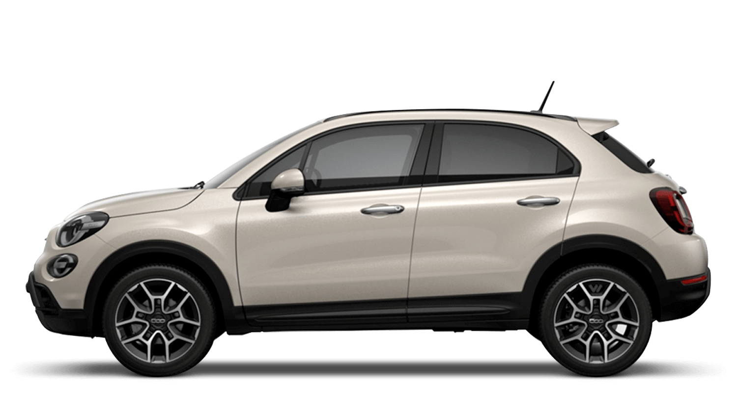 Ivory (Tricoat) New Fiat 500X Cross Look