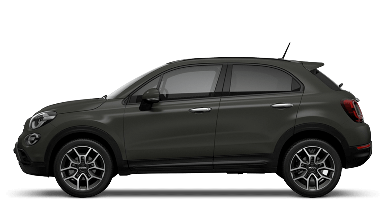 Marching Green Matt (Special) New Fiat 500X Cross Look