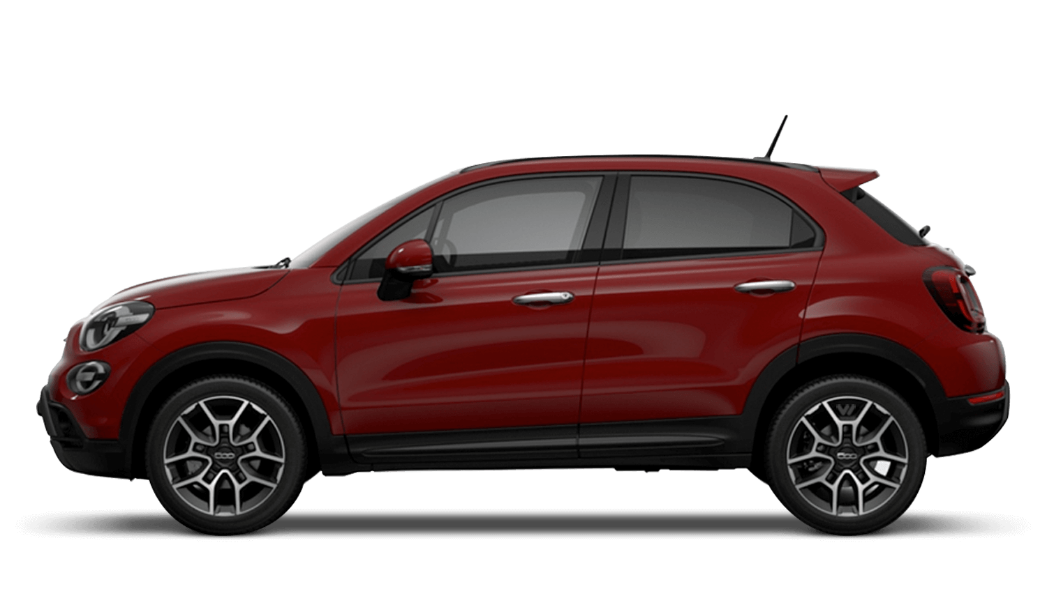 Passione Red (Pastel) New Fiat 500X Cross Look