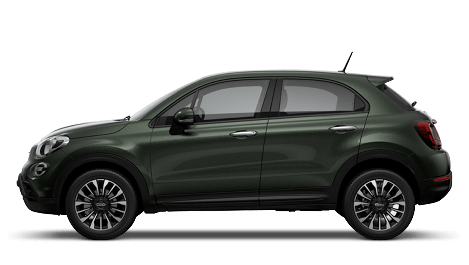 Techno Green (Metallic) New Fiat 500X Cross Look