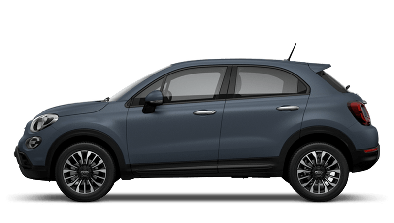 Blue Jeans Matt (Special) New Fiat 500X Cross Look