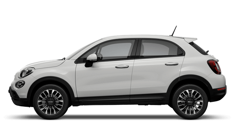 Ice White (Pastel) New Fiat 500X Cross Look