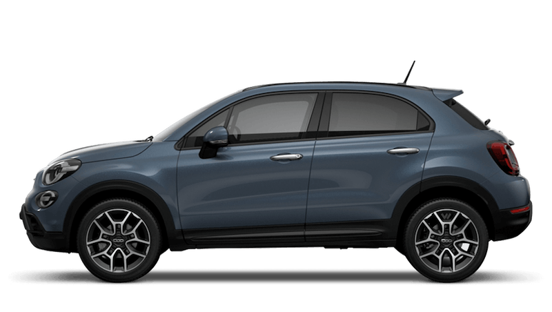 Blue Jeans (Metallic) New Fiat 500X Cross Look