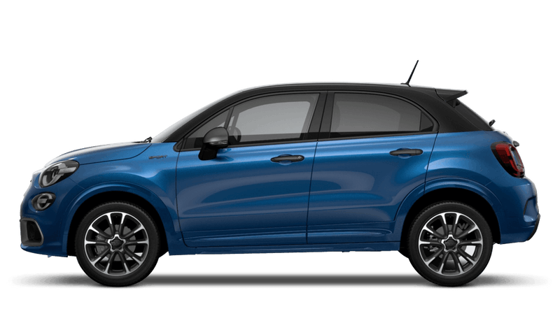 Italia Blue with Black Roof (Bi-Colour) FIAT 500X Sport