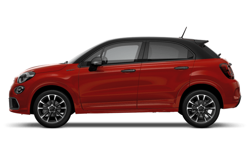 Sport Red with Black Roof (Bi-Colour) FIAT 500X Sport