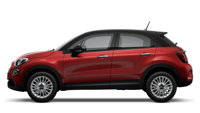 Amore Red with Black Roof (Bi-Colour) New Fiat 500X Urban Look