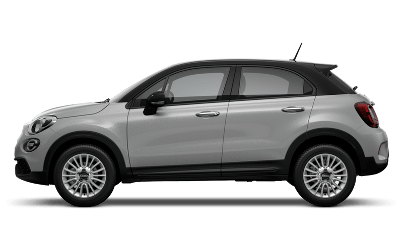 Argento Grey with Black Roof (Bi-Colour) New Fiat 500X Urban Look