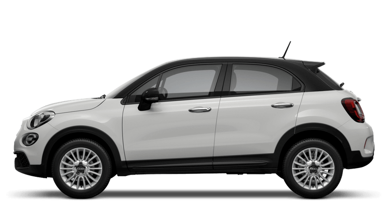 Ice White with Black Roof (Bi-Colour) New Fiat 500X Urban Look