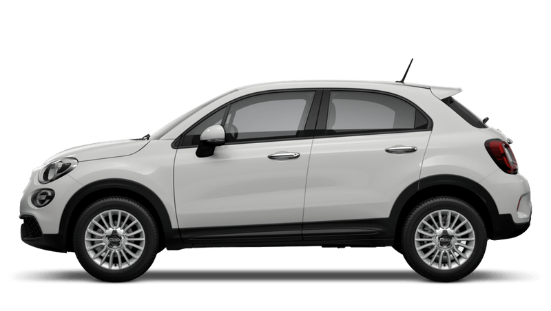 Ice White (Pastel) New Fiat 500X Urban Look