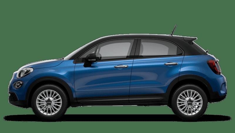 Italia Blue with Black Roof (Bi-Colour) New Fiat 500X Urban Look