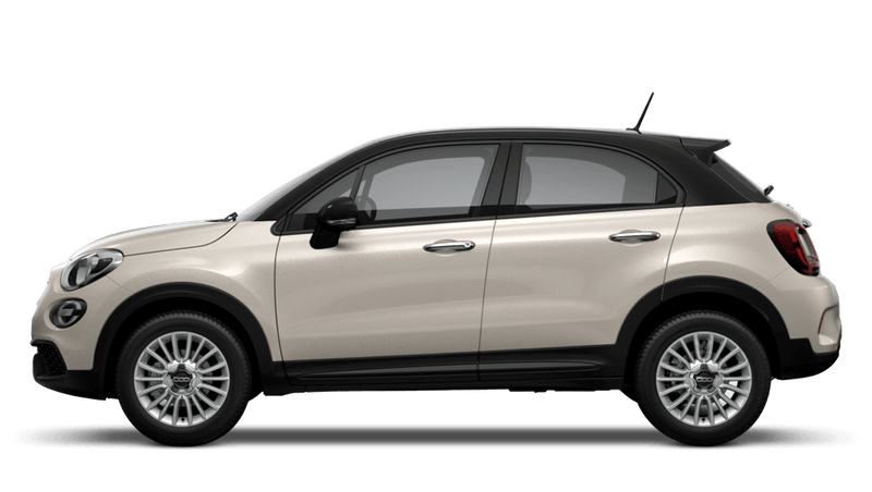 Ivory with Black Roof (Bi-Colour) New Fiat 500X Urban Look