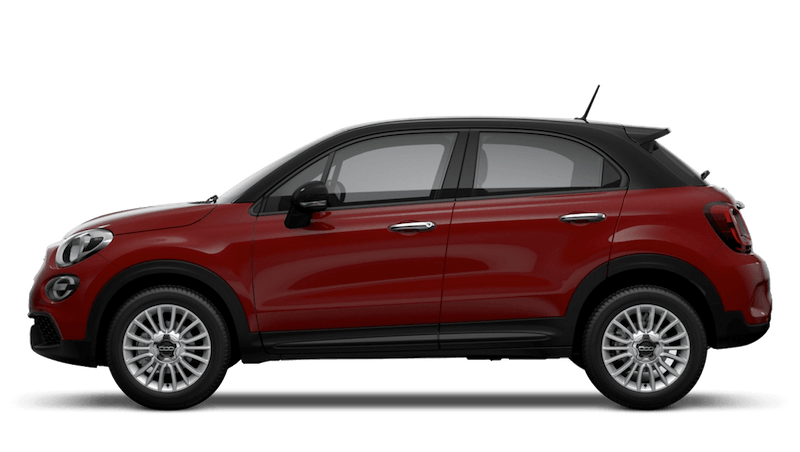 Passione Red with Black Roof (Bi-Colour) New Fiat 500X Urban Look