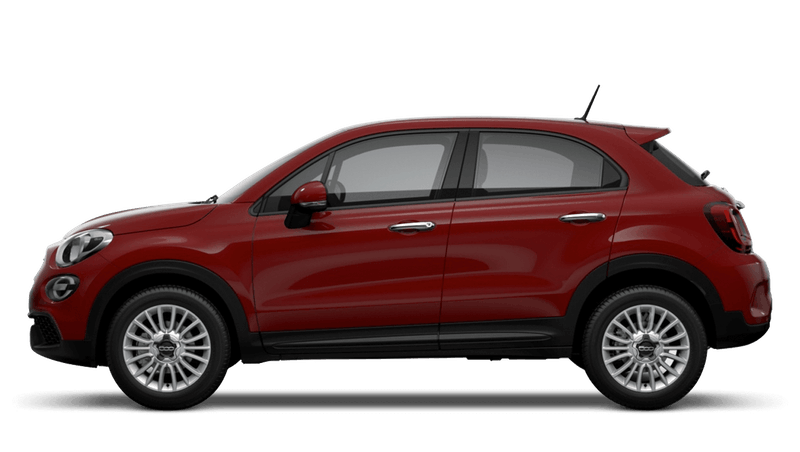Passione Red (Pastel) New Fiat 500X Urban Look