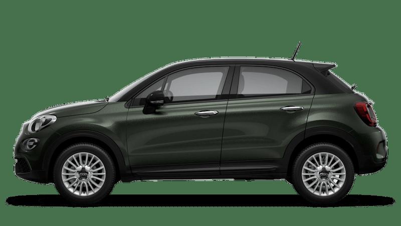Techno Green with Black Roof (Bi-Colour) New Fiat 500X Urban Look