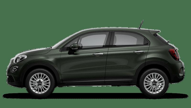 Techno Green (Metallic) New Fiat 500X Urban Look