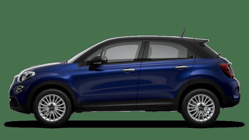 Venezia Blue with Black Roof (Bi-Colour) New Fiat 500X Urban Look