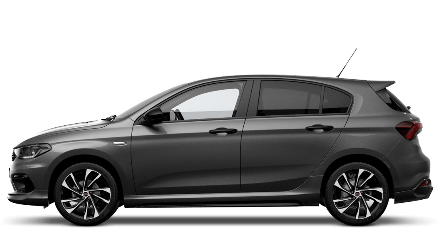 Electroclash Grey with Black Roof (Bi-Colour) FIAT Tipo Hatchback
