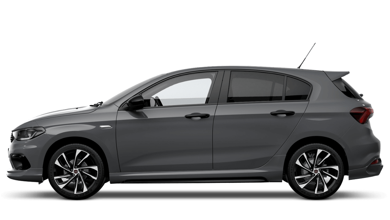 Street Grey with Black Roof (Bi-Colour) FIAT Tipo Hatchback