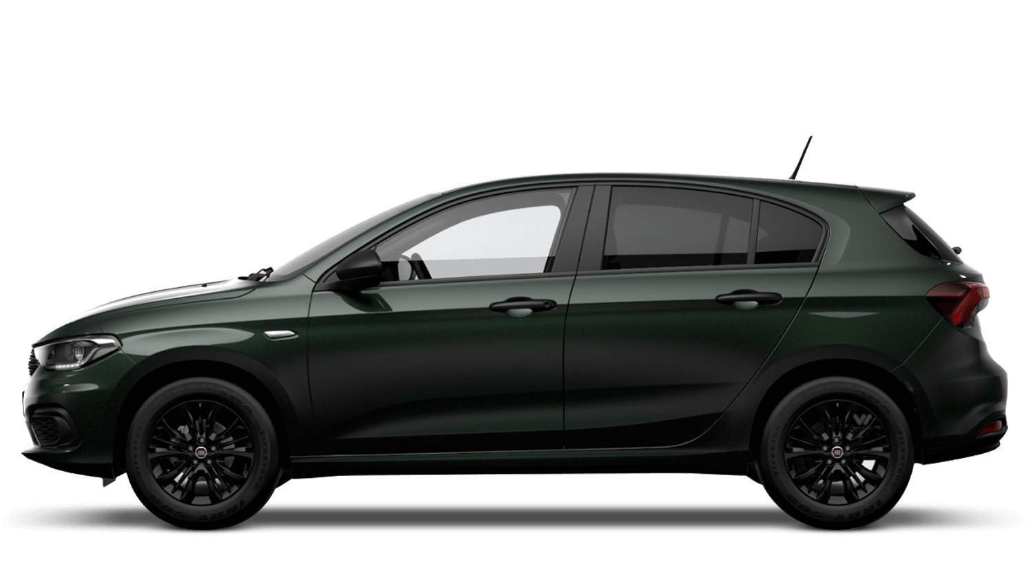 Tuscany Green (Metallic) FIAT Tipo Hatchback
