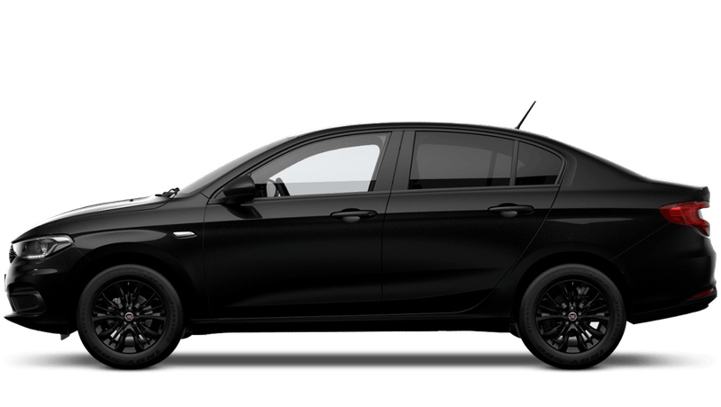 Volcano Black (Metallic) FIAT Tipo Saloon