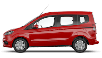 Ford New Tourneo Courier Zetec