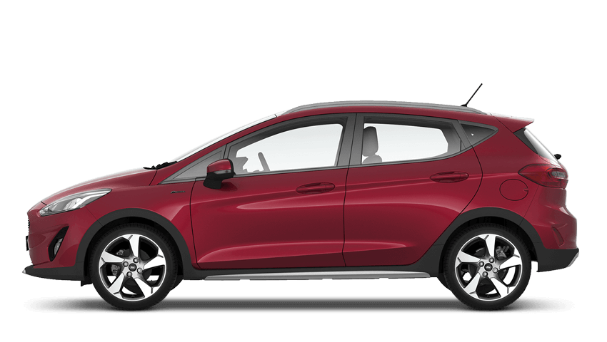 The Ford Fiesta Active 1