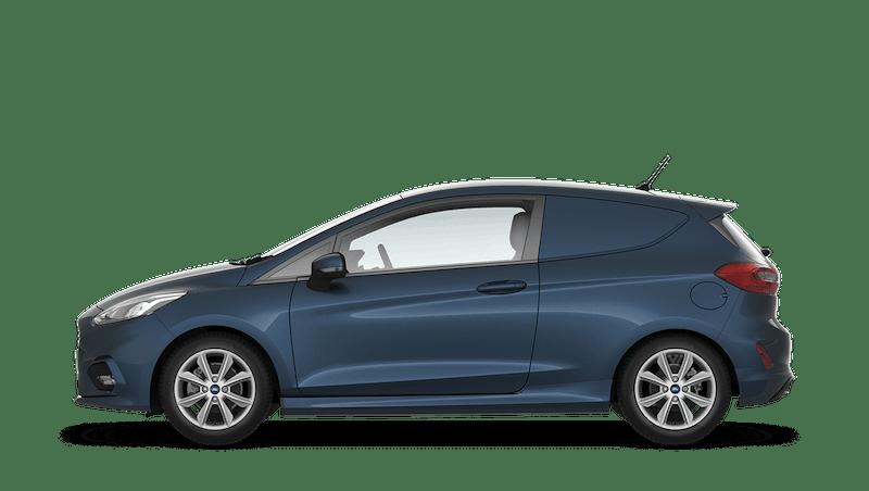 Chrome Blue (Metallic) Ford Fiesta Sport Van