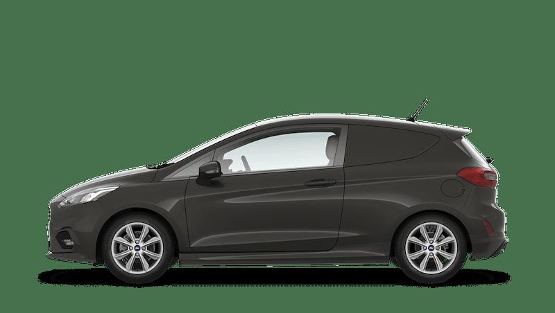 Magnetic (Metallic) Ford Fiesta Sport Van
