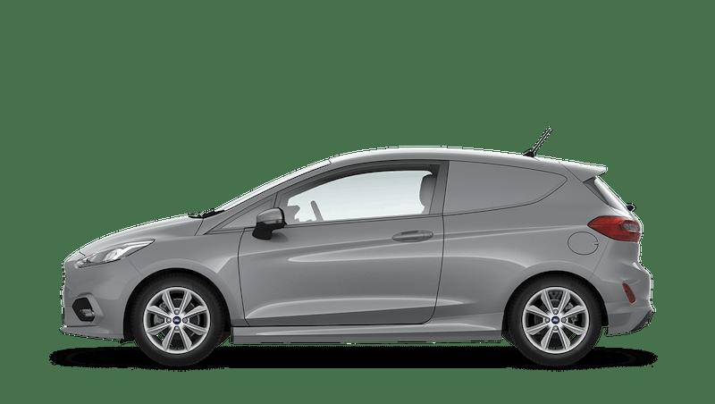Moondust Silver (Metallic) Ford Fiesta Sport Van