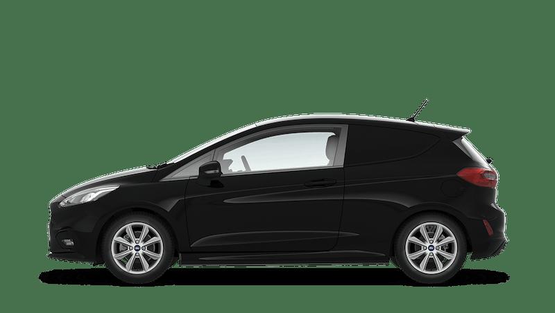 Shadow Black (Metallic) Ford Fiesta Sport Van