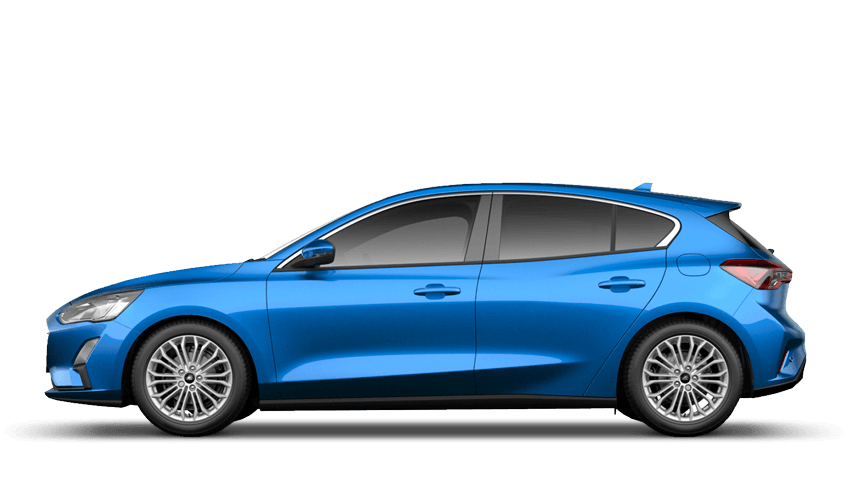 Desert Island Blue (Exclusive Paint) All-New Ford Focus