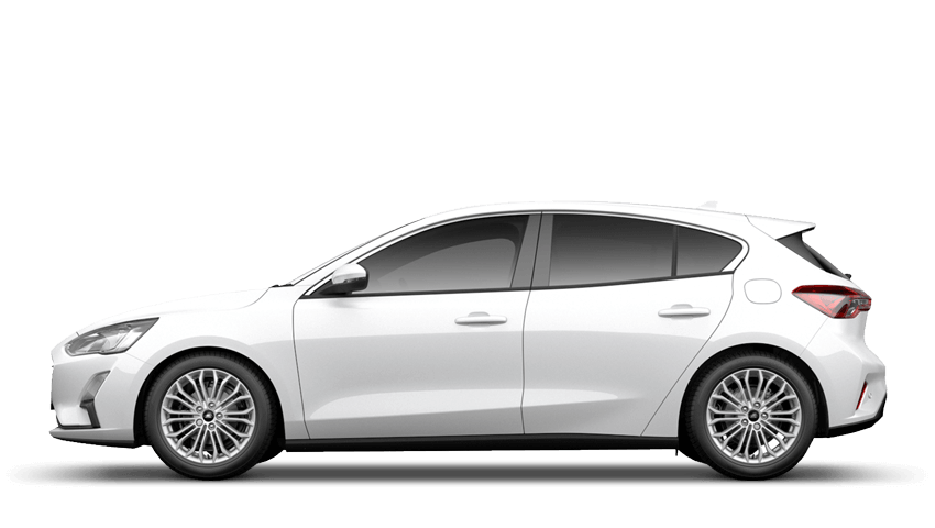 Frozen White (Premium Paint) All-New Ford Focus