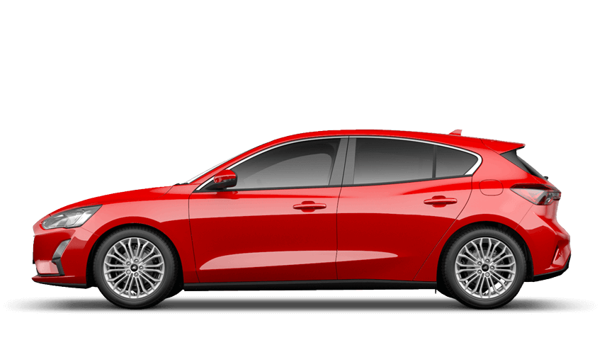 Race Red (Solid) All-New Ford Focus
