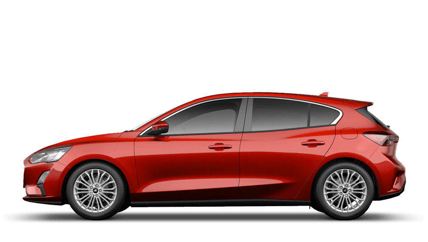 Ruby Red (Exclusive Paint) All-New Ford Focus