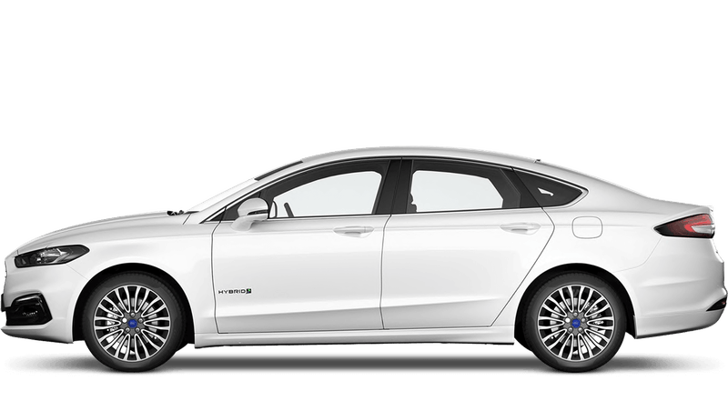 Frozen White (Special Solid) New Ford Mondeo Hybrid