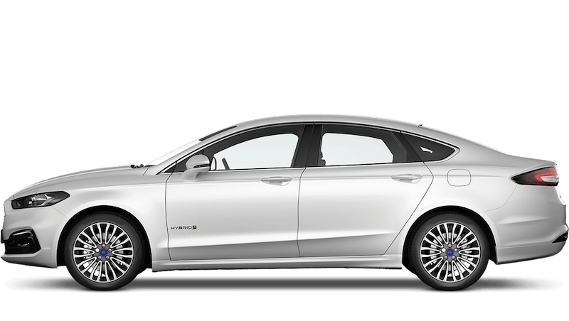 White Platinum (Special Metallic) New Ford Mondeo Hybrid