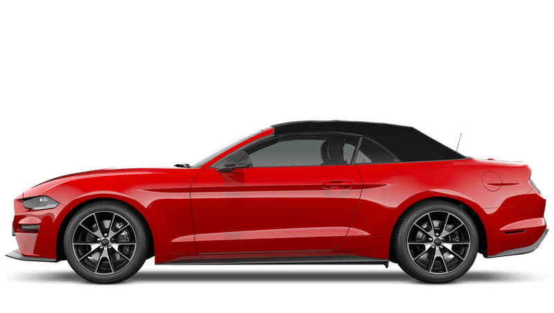 Race Red New Ford Mustang Convertible
