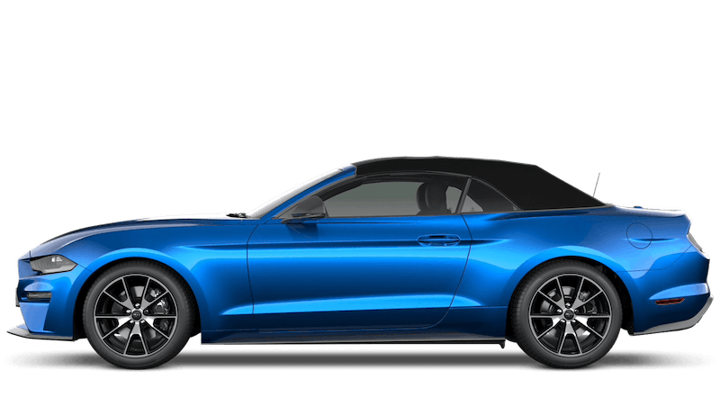 Velocity Blue (Premium) New Ford Mustang Convertible