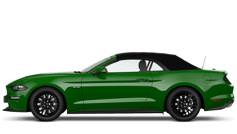 Need for Green (Exclusive) New Ford Mustang Convertible