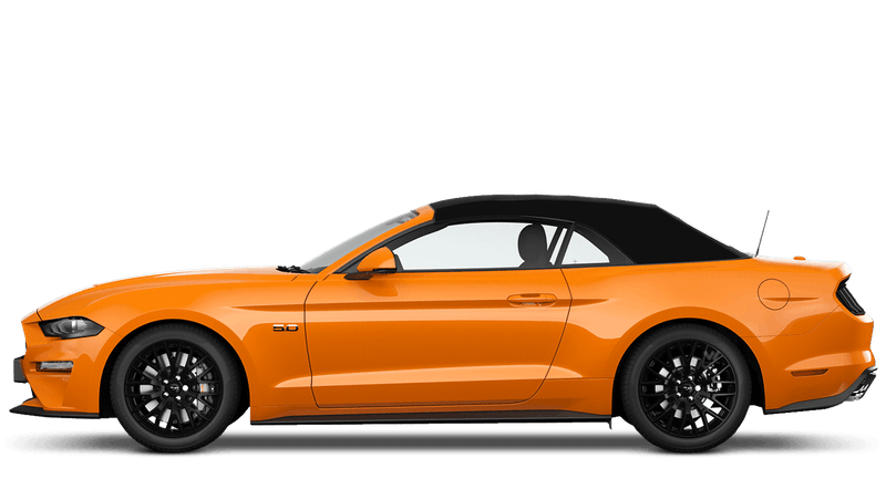 Orange Fury (Exclusive) New Ford Mustang Convertible