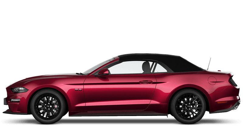 Ruby Red (Exclusive) New Ford Mustang Convertible