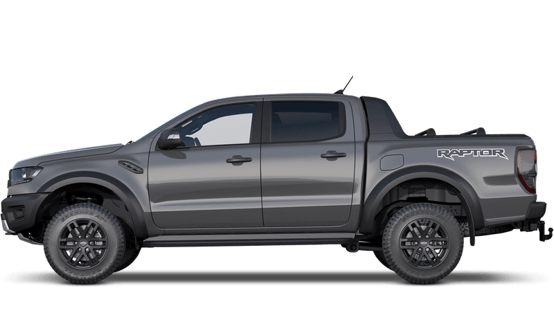 Conquer Grey All-New Ford Ranger Raptor