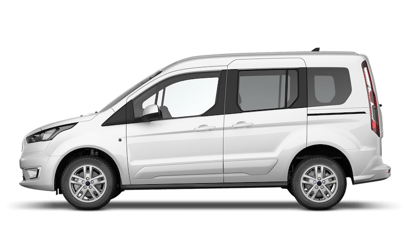 Frozen White (Solid) Ford Tourneo Connect